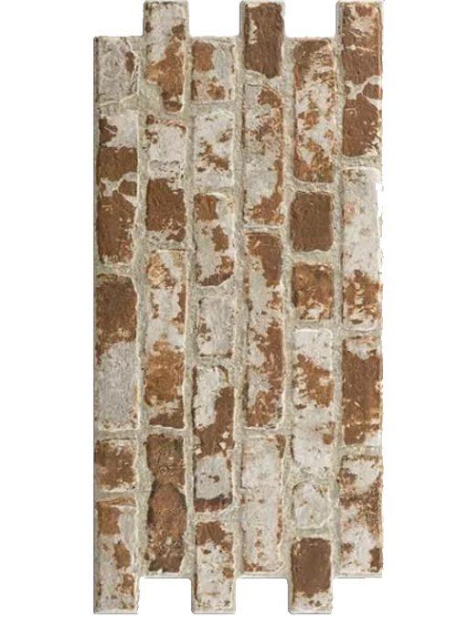 Brick wall red 30x60