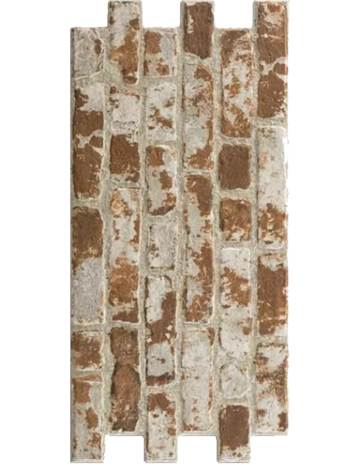 Brick wall red 30x60
